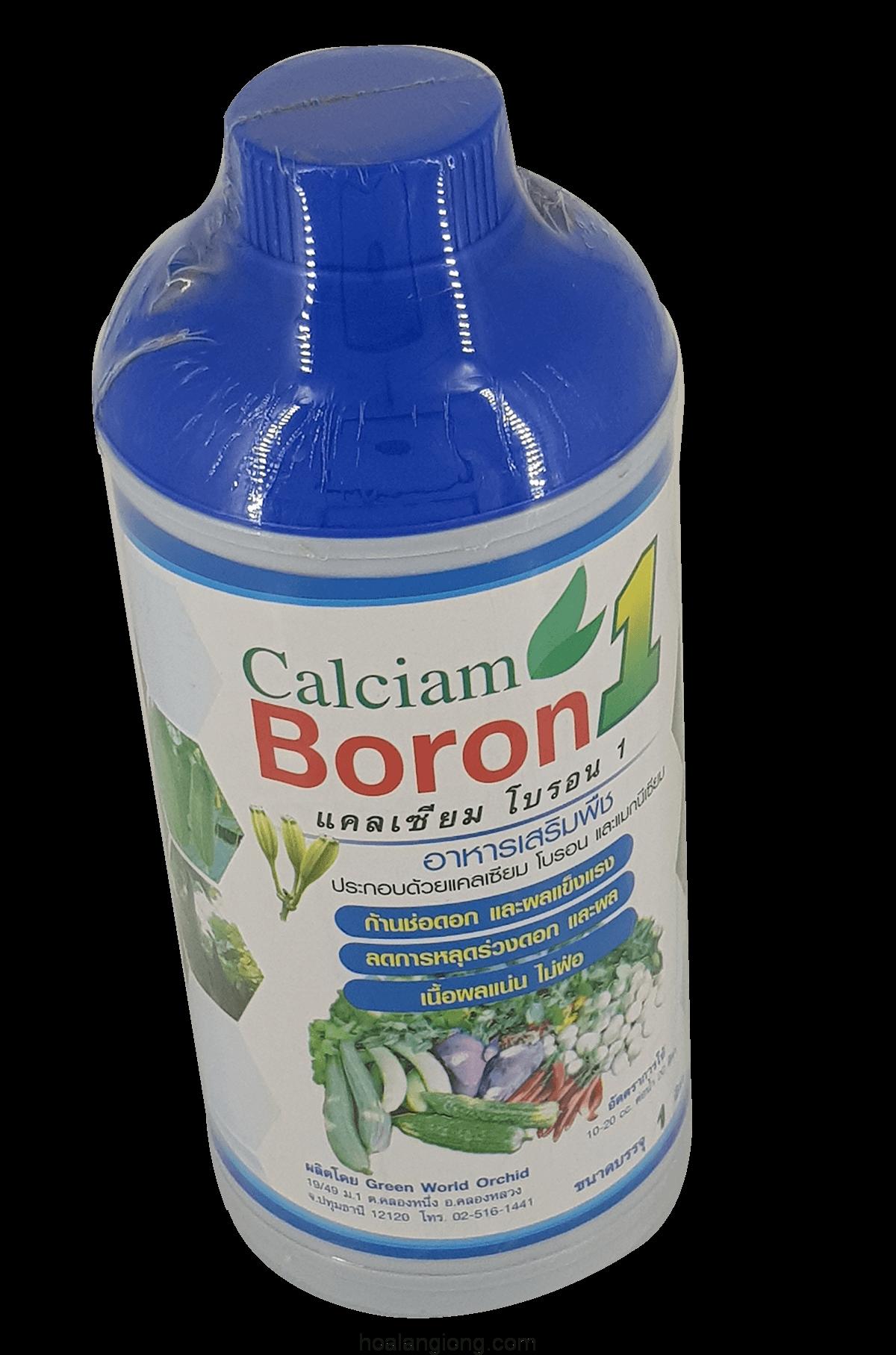Phân bón lá bổ sung vi lượng Calciam Boron Thái Lan – BT1214